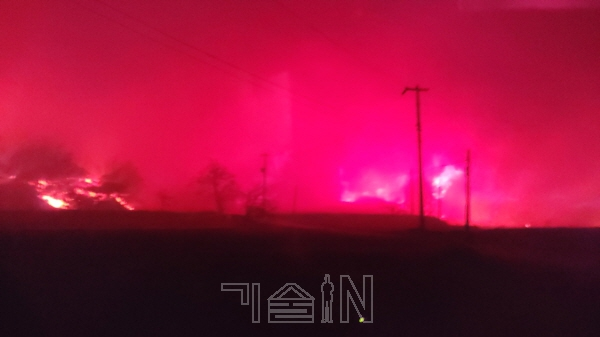 강원도 산불, 지형적 특성인 '양간지풍'이 확산속도 높여