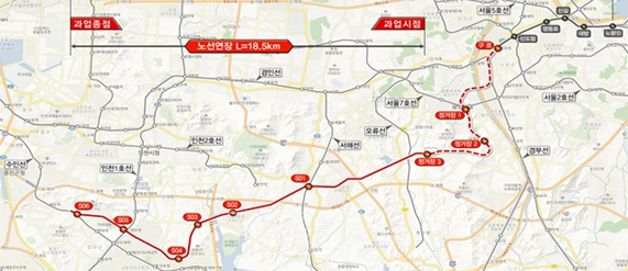 제2경인선 광역철도 건설사업 예타자료 보완요청