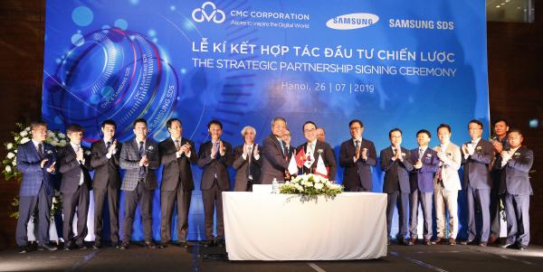 삼성SDS - CMC CO. 전략적 기술투자 제휴