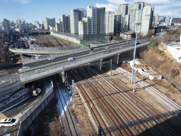 서울시, 개봉철도고가 성능개선공사 5일 착수