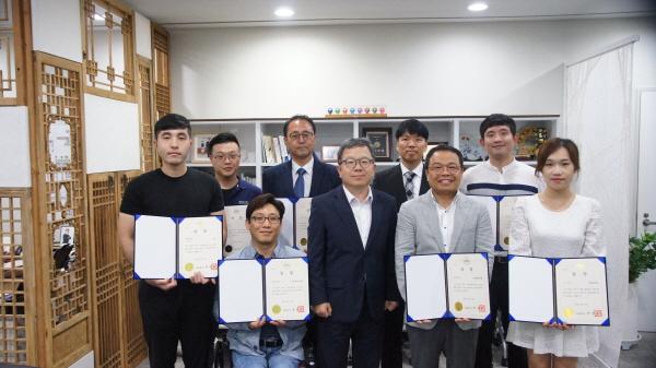 '제1회 서울 물산업 스타트업 공모전' 대상 쓰레기 분리 빗물받이 수상